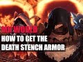 MONSTER HUNTER WORLD - HOW TO GET THE DEATH STENCH ARMOR AND PALICO ARMOR -SINISTER CLOTH LOCATION-