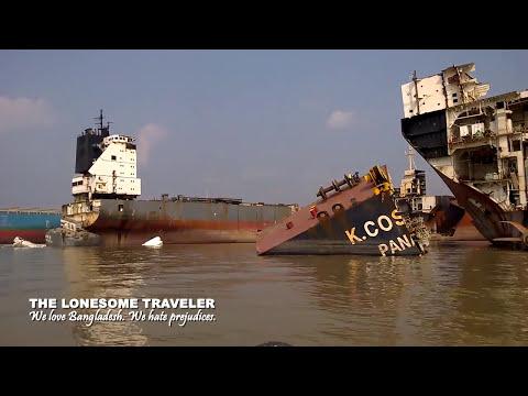 Reisen in Bangladesch. Die Abwrackwerften von Chittagong II.