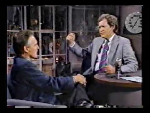 Dennis Hopper @ David Letterman, Blue Velvet