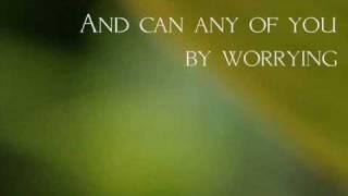Do Not Worry (Matthew 6;25-34) by William West.wmv