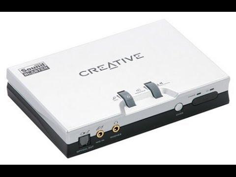 Creative Sound Blaster Live 24 bit Driver Windows10 تعريف وتنصب واعدادات الكرت الفضي ويندوز