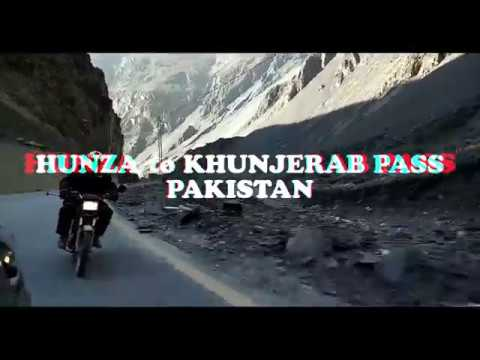 Ambitious Rider : Around the Country Tour Day 12 Hunza to Khunjerab Part 1