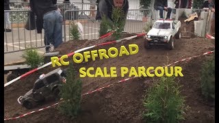 AMAZING RC SCALE FAIR COURSE @ Faszination Modelltech 2015 (Axial, RC4WD, Tamiya, Gmade...) *HD*