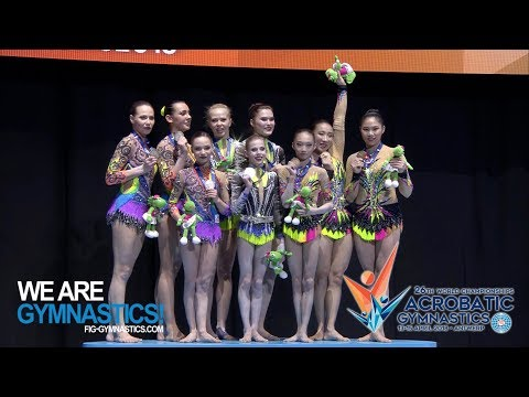 2018 Acrobatic Worlds – First finals : Russia irresistible