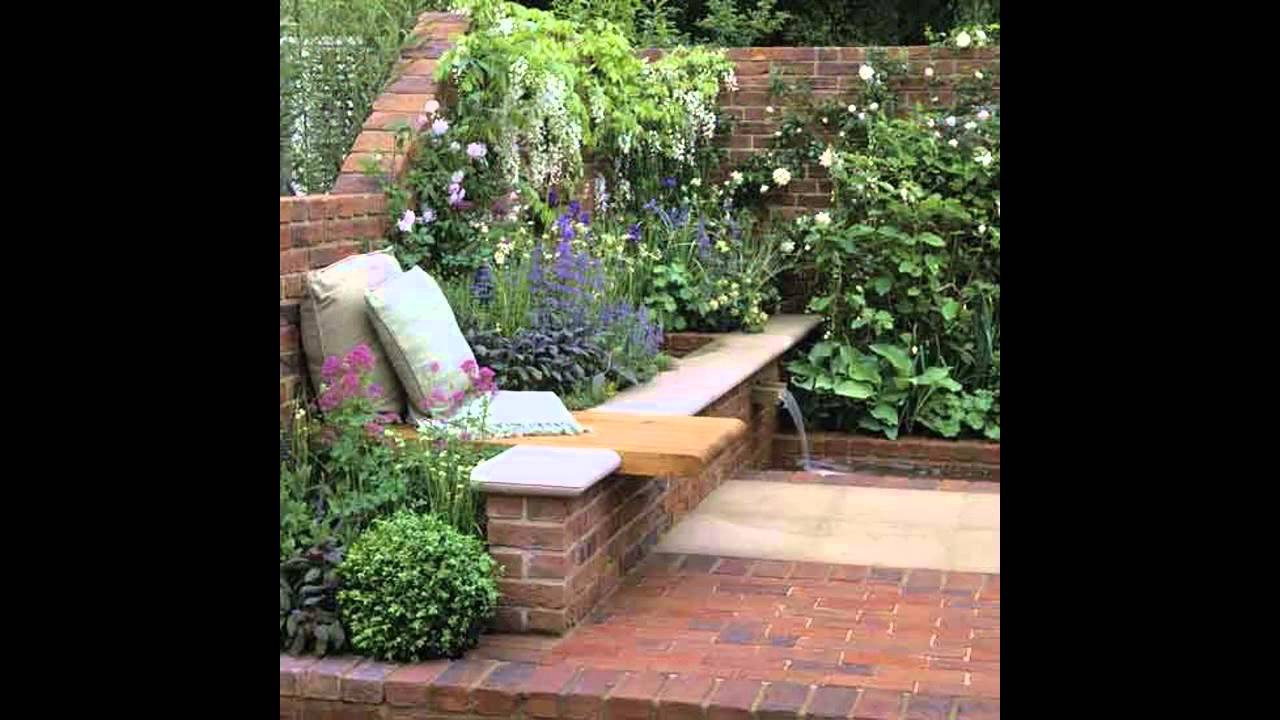 Small walled garden design - YouTube on Small Landscape Garden Design  id=39650