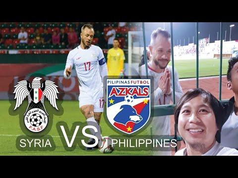 Syria Vs Philippines Azkals Highlights 2019