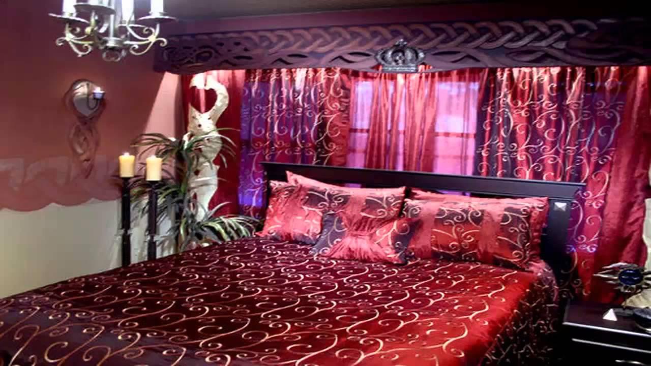 غرف نوم رومانسية حمراء       YouTube