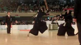 SlowMotion - NISHIMURA's M (vs SHODAI) - 64th All Japan KENDO Championship - Second round 40