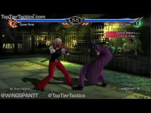 WiNGSPANTT (The Joker) Soul Calibur 5 Ranked Matches 2
