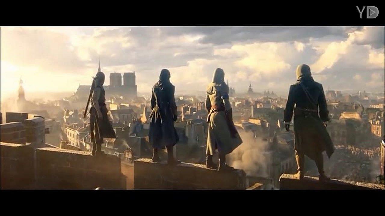 Assassin's Creed Unity - My Demons (Starset) - YouTube