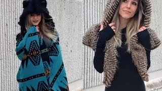 Styling my Spirithoods Shawls and Cape