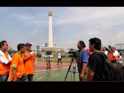 Lomba Burung Dahsyat - JAKARTA CUP di Lapangan Monas