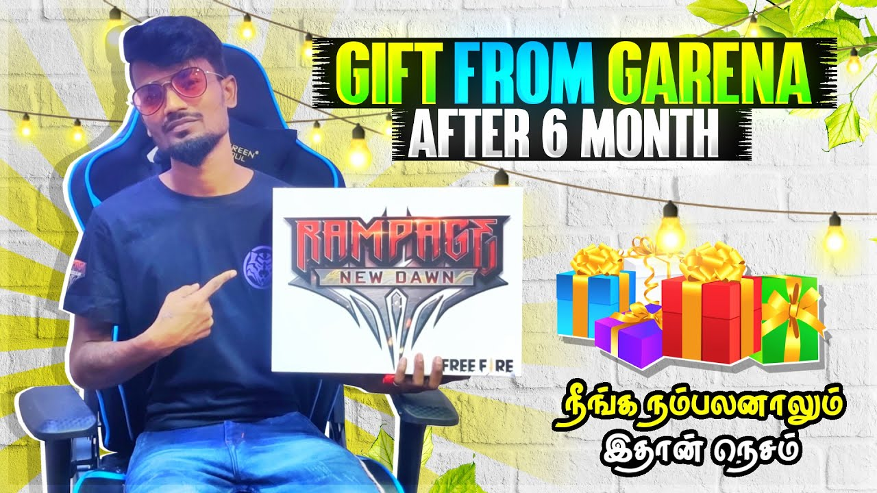 ??Wow.!! Surprise Gift From Garena Free Fire? | Gaming Tamizhan | Rampage New Event Tamil