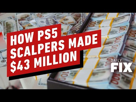 How Many PS5s It Took For Scalpers To Make $43 Million Profit - IGN Daily Fix
