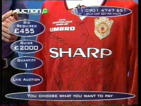 Manchester United 1999 Champions League Mutli Signed Shirt Vintage