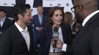 Upfront 2017: Michelle Dockery and Juan Diego Botto on the Red Carpet