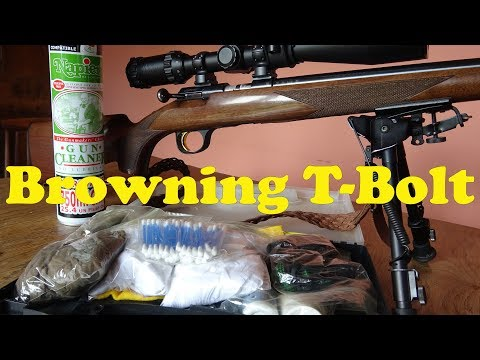 Browning T Bolt: Cleaning And Inspection