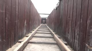 Ourtour.co.uk Model Great Escape Tunnel for Stalag Luft III at Zagan, Poland