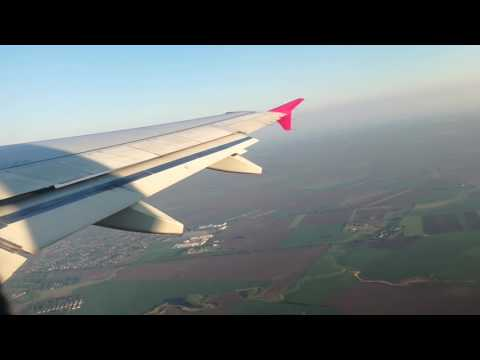 Take off at Debrecen (to London Luton) 2017.05.11, Hungary