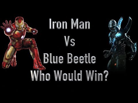 Iron Man Vs Blue Beetle Who Would Win?