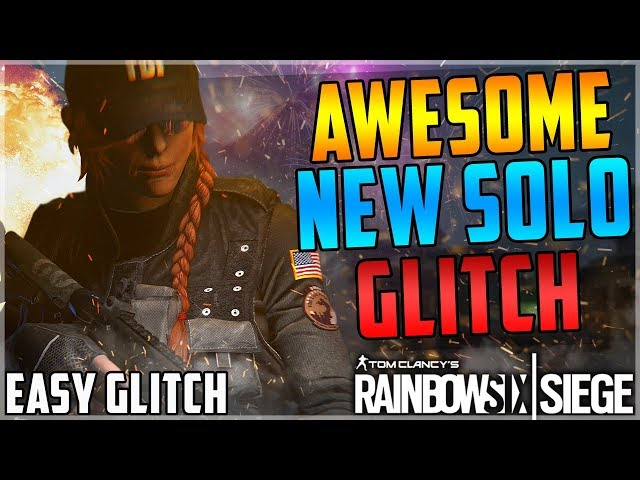 CRAZY NEW SOLO GLITCH - INVINCIBLE + GET ON THE ROOF AFTER PATCH (Rainbow Six Siege)