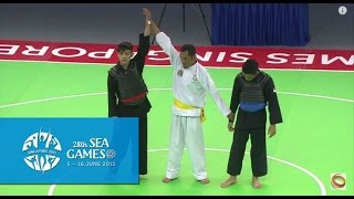 Pencak Silat Tanding Category Vietnam vs Singapore (Day 6) | 28th SEA Games Singapore 2015