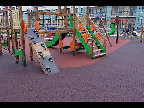 Резиновое покрытие для детских и спортивных площадокиз YouTube · Длительность: 51 с