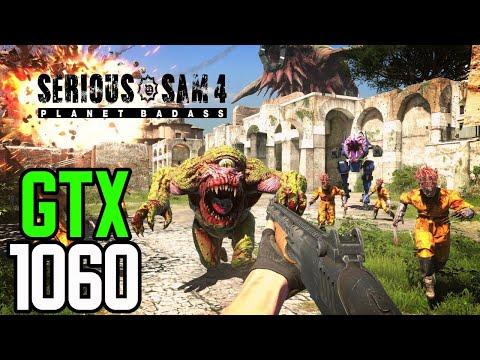 Serious Sam 4 - GTX 1060 3gb   i5 3570   12GB   1080p   DirectX 12  