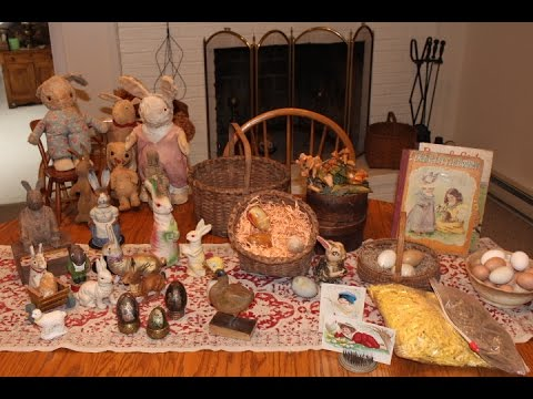 easter antique home decor decorating ideas - youtube