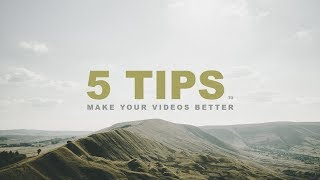 How to INSTANTLY Make Your Videos BETTER! (Tutorial)