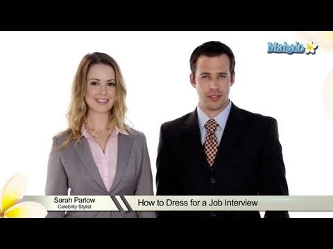 How to Dress for a Job Interview - YouTube