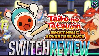 Taiko no Tatsujin: Rhythmic Adventure Pack Switch Review - Taiko JRPG!? (Video Game Video Review)