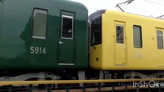 【武庫川線新型車両⁉】阪神5500系5513f(武庫川線用改造車)試運転