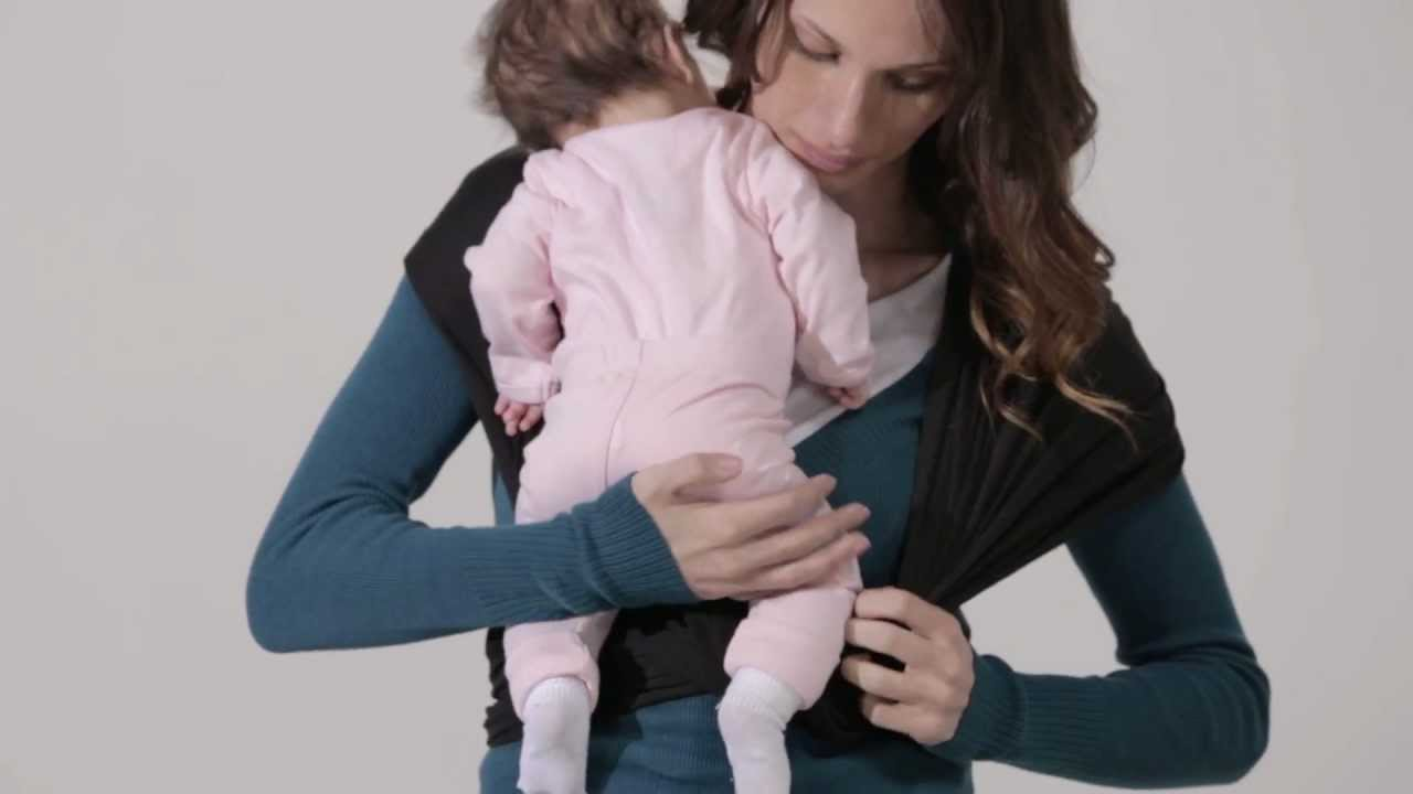 Jj Cole Agility Baby Carrier Inward Facing Position