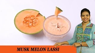 Musk Melon Lassi - Mrs Vahchef