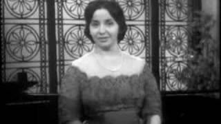 "Teresa Berganza sings ""El pano moruno"" M.de Falla"