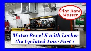 Matco Revel X with Locker the Updated Tour Part 1