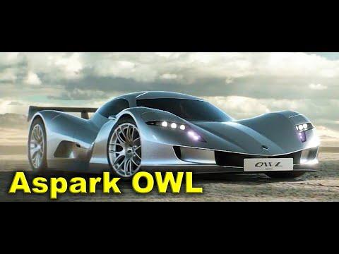 Aspark OWL  Fastest Electric Hypercar, Official Trailer