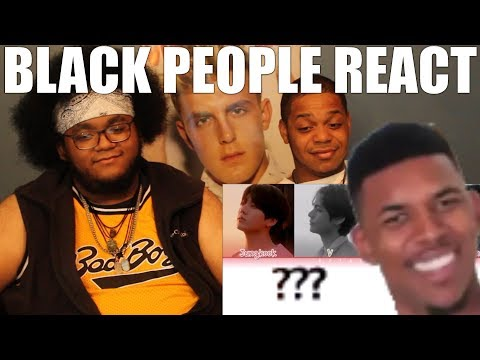 BLACK PEOPLE WATCH K-POP(BTS - THE TRUTH...