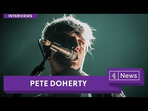 Pete Doherty speaks to Krishnan Guru-Murthy
