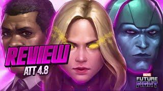 Primeiras Impressões, ATT da Capitã Marvel - MARVEL Future Fight