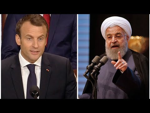 World War 3 'PROMISE': Macron WILL DO ANYTHING to ensure 'Iran NEVER has NUCLEAR weapon'