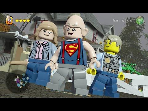 LEGO Dimensions - Goonies Adventure World (Astoria) - Free Roam Gameplay