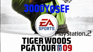 PS2 Game(2) - Tiger Woods PGA Tour 09 (Gameplay)