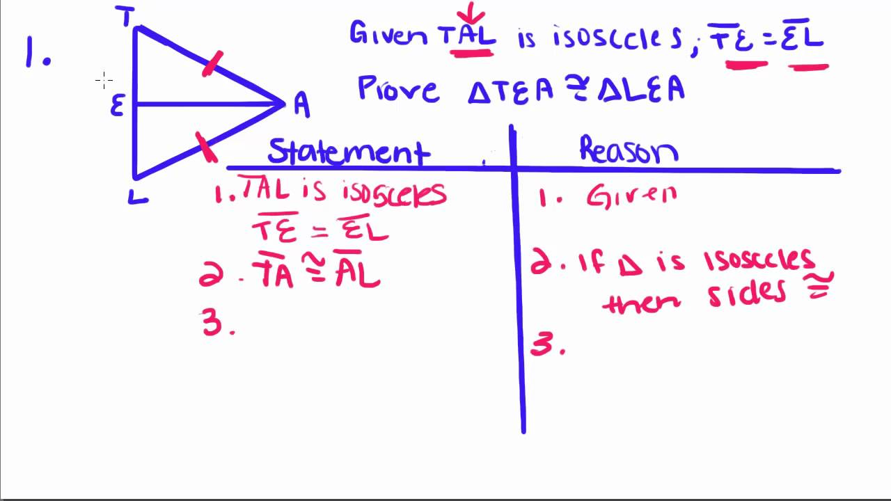 Geometry Proofs Worksheets With Answers - geometry 16 ...
