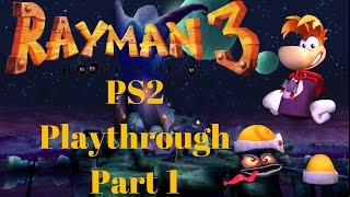 Rayman 3 Hoodlum Havoc PS2 100% Playthrough Part 1