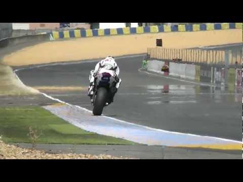 24 Heures du Mans Moto 2012 - Journées Test