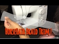 HorseHair Braid trim tutorial !!