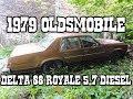 1979 Oldsmobile Delta 88 Royale 5.7 V8 diesel - HillbillyGarage Ep5