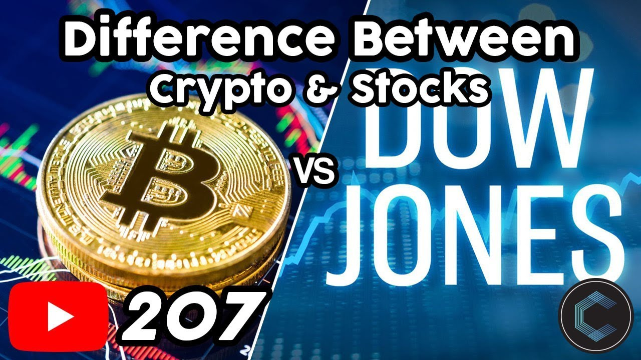 """The Real Difference Between Cryptocurrency and Stocks - """"It's Just Play Money"""""""
